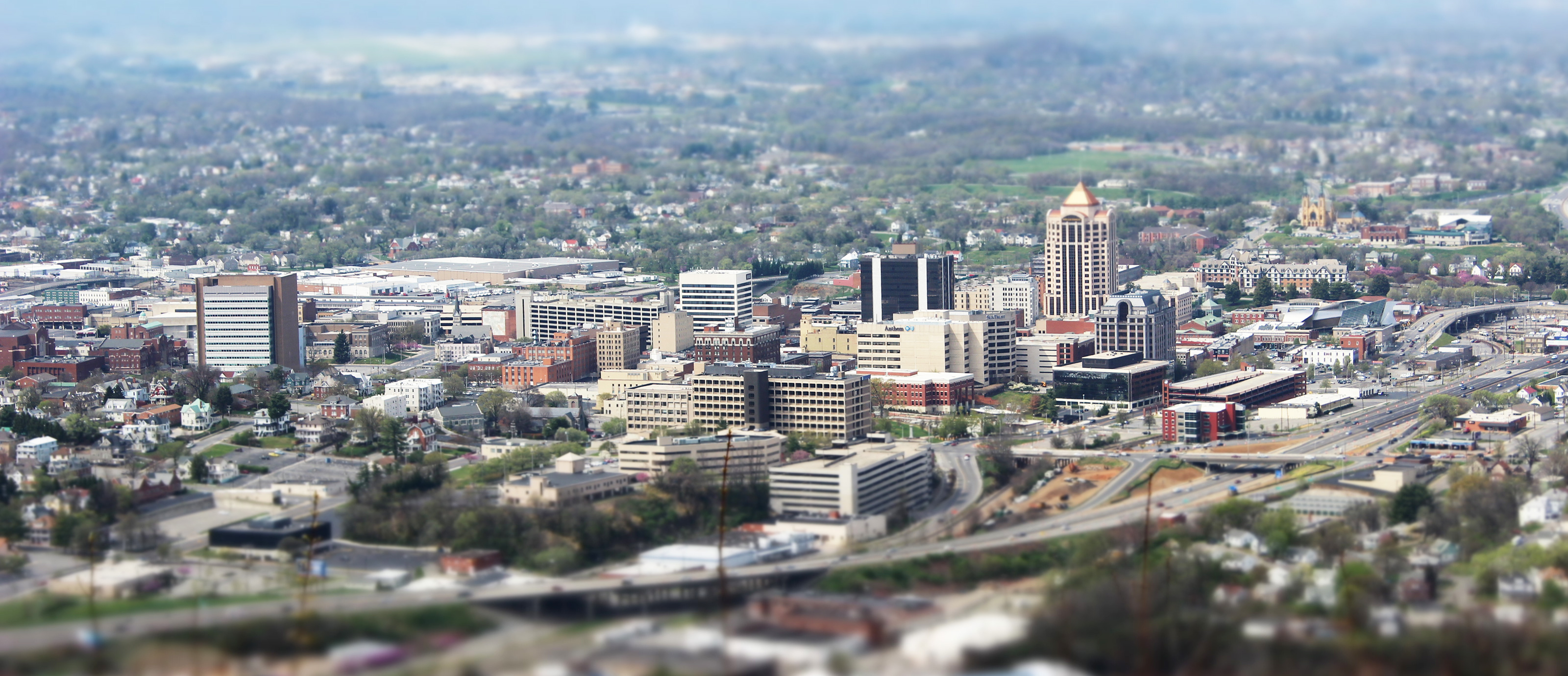 City of Roanoke. Photo © Chuck Borowicz.